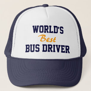 b4102b599dd Best seller! World s best bus driver cap