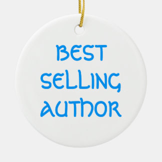 BEST SELLING AUTHOR Christmas Ornament