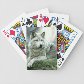 Best Selling Imaginative Wolf Art Illustration Pai Bicycle Playing Cards