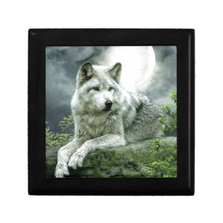 Best Selling Imaginative Wolf Art Illustration Pai Gift Box