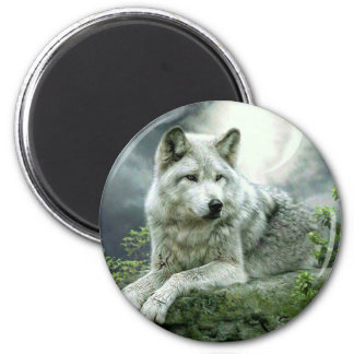 Best Selling Imaginative Wolf Art Illustration Pai Magnet