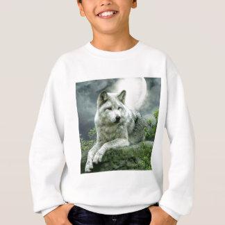 Best Selling Imaginative Wolf Art Illustration Pai Sweatshirt