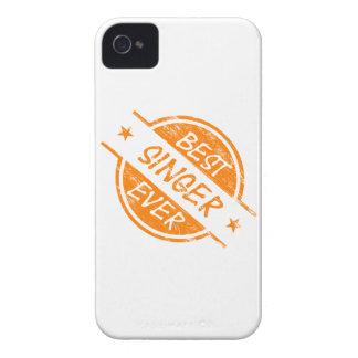 Best Singer Ever Orange iPhone 4 Case-Mate Case