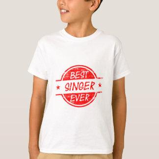 Best Singer Ever Red T-Shirt