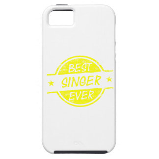 Best Singer Ever Yellow Tough iPhone 5 Case