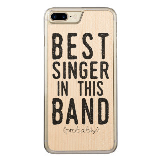Best Singer (probably) (blk) Carved iPhone 8 Plus/7 Plus Case