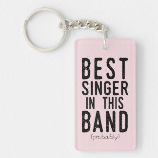 Best Singer (probably) (blk) Key Ring