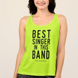 Best Singer (probably) (blk) Singlet