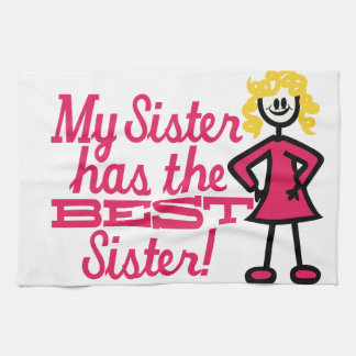 Best Sister Tea Towels