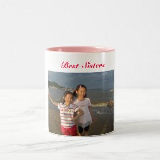 Best sisters Two-Tone coffee mug