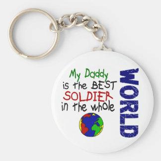 Best Soldier In World 2 (Daddy) Key Chains