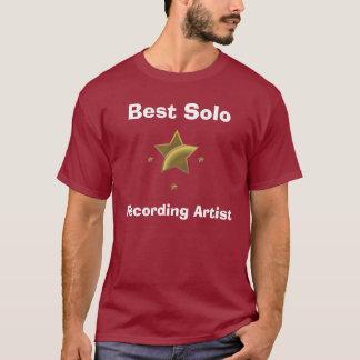 Best Solo Recording Artist T-Shirt