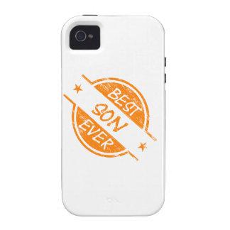 Best Son Ever Orange Case-Mate iPhone 4 Cover