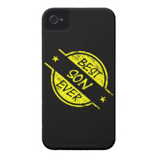 Best Son Ever Yellow iPhone 4 Cases
