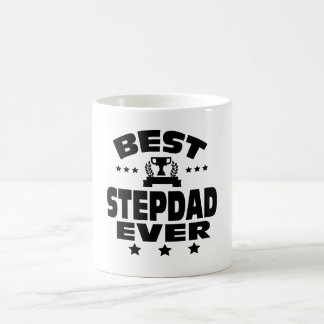BEST STEPDAD EVER COFFEE MUG