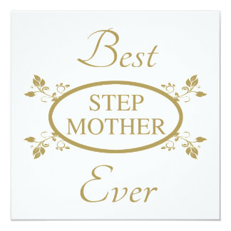 Best Stepmother Ever Card