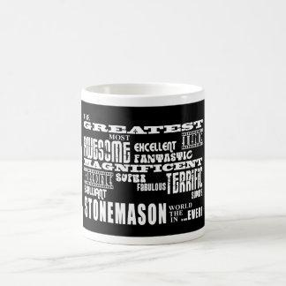 Best Stonemasons : Greatest Stonemason Basic White Mug