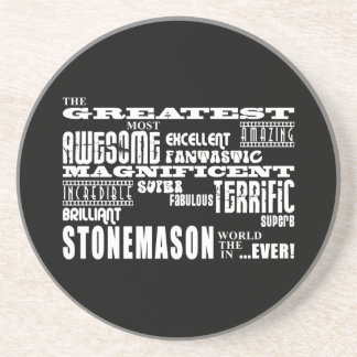 Best Stonemasons : Greatest Stonemason Drink Coaster