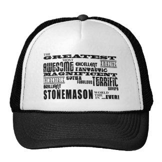 Best Stonemasons : Greatest Stonemason Hat