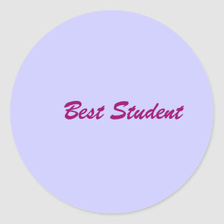 Best Student Stickers