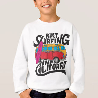 Best Surfing California Sweatshirt