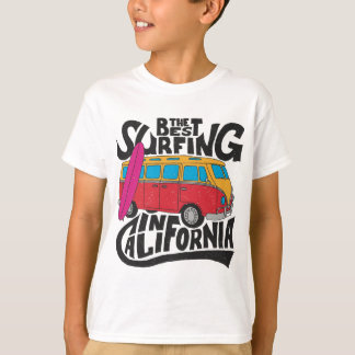 Best Surfing California T-Shirt