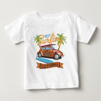 Best Surfing in California Baby T-Shirt