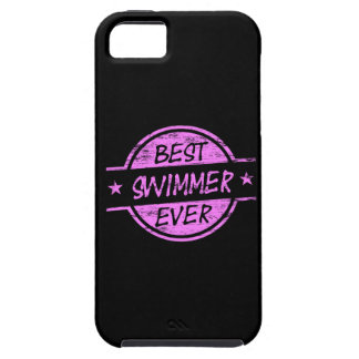 Best Swimmer Ever Pink iPhone 5 Cover