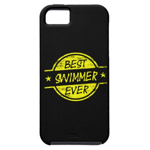 Best Swimmer Ever Yellow iPhone 5/5S Cases