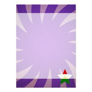 Best Tajikistan Flag Design 13 Cm X 18 Cm Invitation Card
