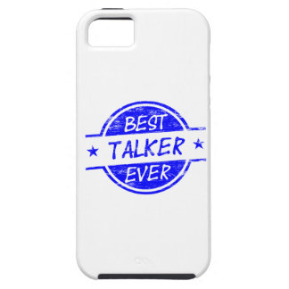 Best Talker Ever Blue iPhone 5 Cover