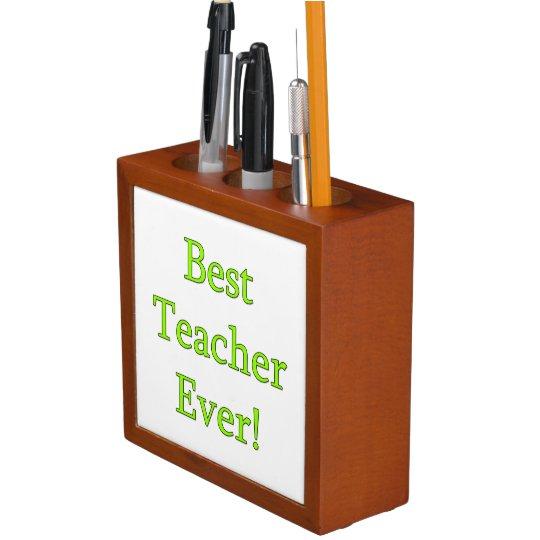 Best Teacher Ever Desk Organiser