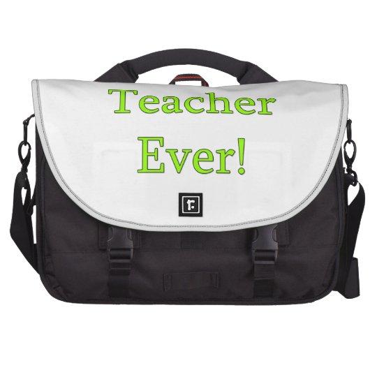 Best Teacher Ever Laptop Shoulder Bag