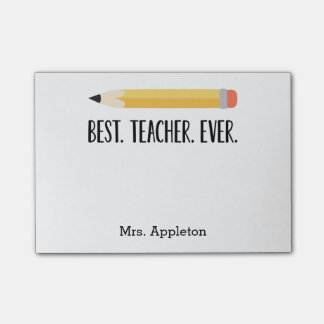 Best Teacher Ever | Personalized Notes