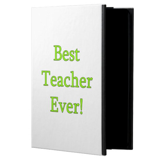 Best Teacher Ever Powis iPad Air 2 Case
