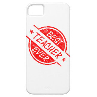 Best Teacher Ever Red iPhone 5 Cover