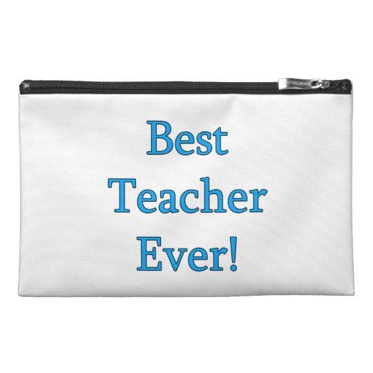 Best Teacher Ever Travel Accessory Bag