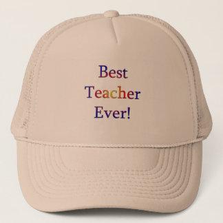 Best Teacher Ever Trucker Hat