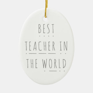 Best Teacher in the World Phonics Decoration