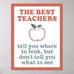 BEST TEACHERS poster