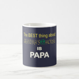 Best Thing Is PAPA Basic White Mug