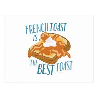Best Toast Postcard