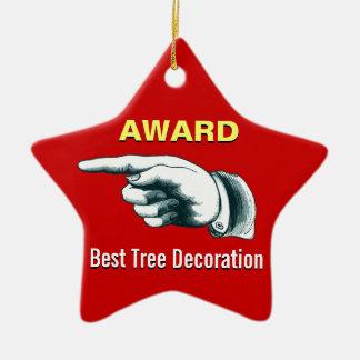 Best Tree Decoration Award Ornament