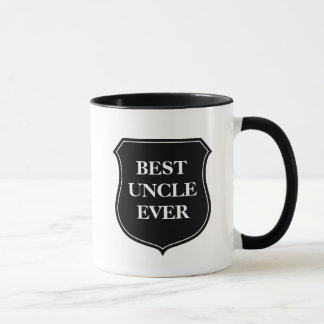 Best uncle ever coffee mug with quote