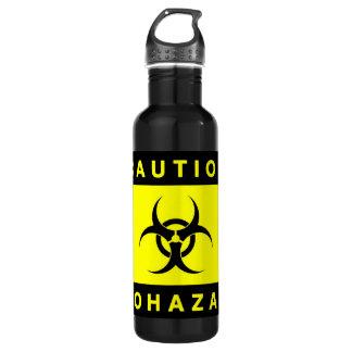 [Best Value] Biohazard Zombie Warning 710 Ml Water Bottle