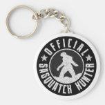Best Version - OFFICIAL Sasquatch Hunter Design Basic Round Button Key Ring