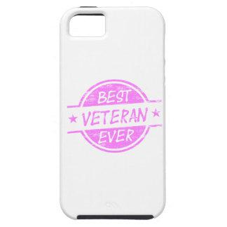 Best Veteran Ever Pink iPhone 5 Cases