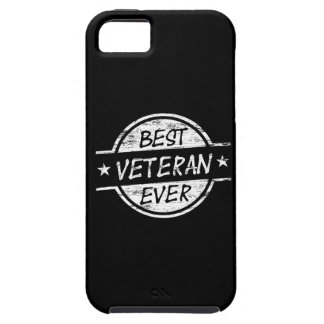 Best Veteran Ever White Tough iPhone 5 Case