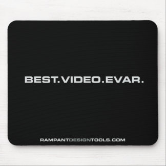 Best Video Evar - Black Mousepad