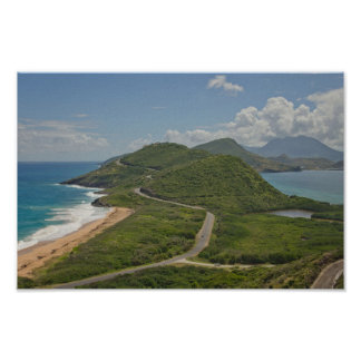 Best view in St. Kitts Poster
